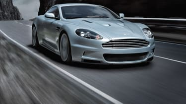 The DBS is the flagship car ofthe Aston Martin range.