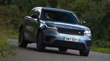 Used Range Rover Velar - front cornering