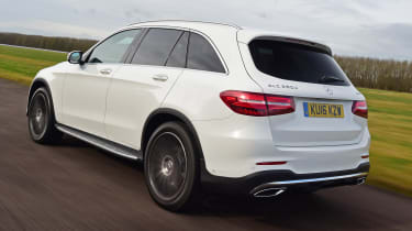 Mercedes GLC - rear cornering