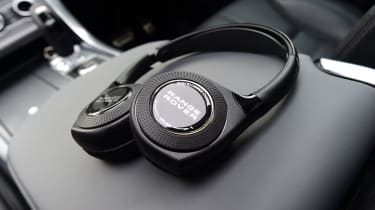 Headphones come as part of the rear-seat entertainment system.