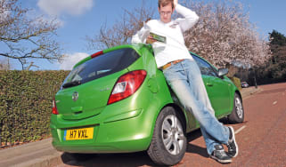 Vauxhall Corsa header