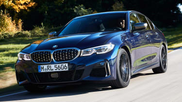BMW M340i xDrive - front action