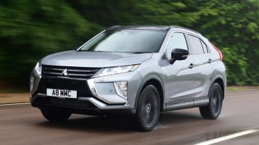 Mitsubishi Eclipse Cross Black Connected - front