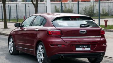 Qoros 3 - rear seats