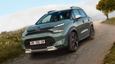 Citroen C3 Aircross - off road
