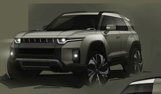 SsangYong J100 electric SUV