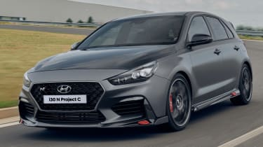 Hyundai i30 N Project C - front tracking