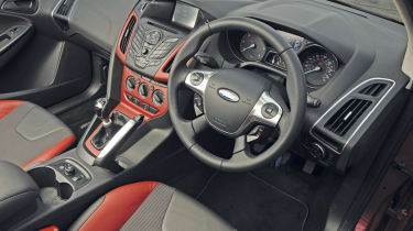 Ford Focus Zetec interior