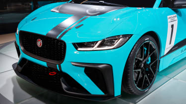 Jaguar I-Pace eTrophy - grille