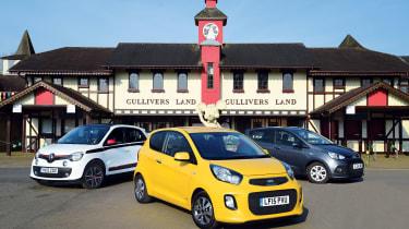 Kia Picanto vs Renault Twingo & Hyundai i10