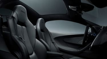 McLaren 570GT MSO Black Collection Interior seats