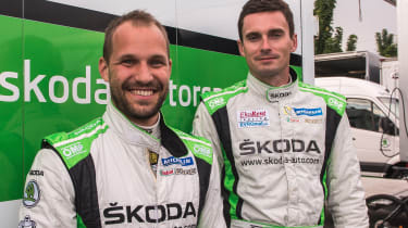 Skoda rally - Dresler & Kopecky