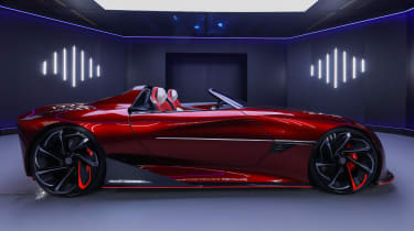 MG Cyberster concept - side