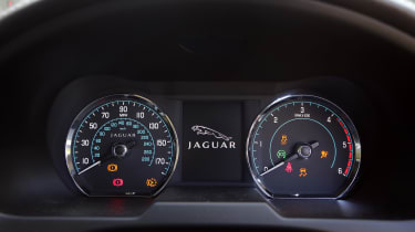 Used Jaguar XF - dials