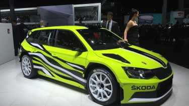"""<span face=""""Calibri, Verdana, Helvetica, Arial"""">First shown at the Worthersee show earlier this year, Frankfurt was the first time international audiences could cast their eyes on the special Skoda concept car. A Fabia estate car gets"""