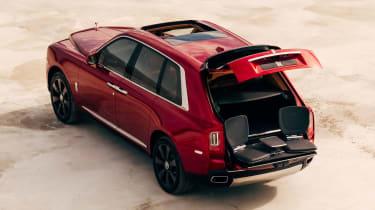 Rolls-Royce Cullinan SUV - tailgate