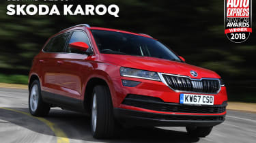 Skoda Karoq - 2018 Mid-size SUV of the Year