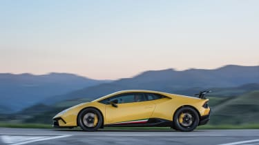 Lamborghini Huracan Performante 2017 static side