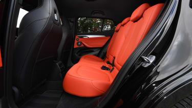 BMW X2 M35i - rear seats