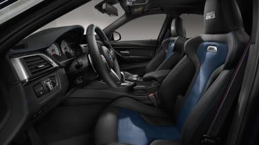 BMW M3 30 Jahre UK edition - interior