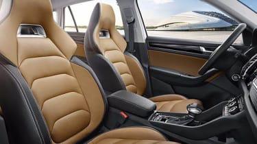 Skoda Kodiaq GT leak seats