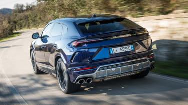 Lamborghini Urus - rear action