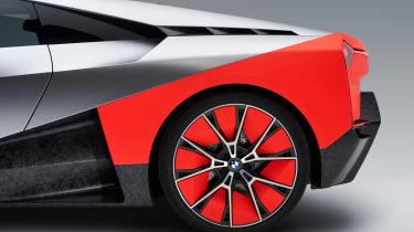 BMW Vision M NEXT concept - studio rear wheel