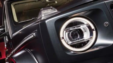 New Mercedes G-Class revealed - headlight