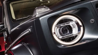 New Mercedes G-Class revealed - headlight