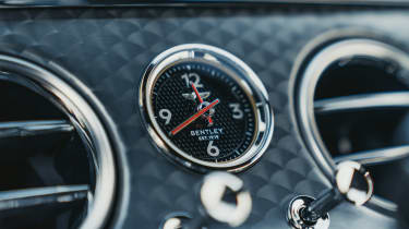Bentley Continental GT Speed - clock
