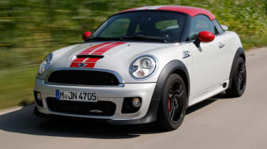The Mini Coupe JCW is the fastest car ever produced by Mini.