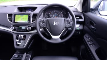 Used Honda CR-V Mk4 - dash