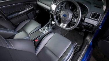 Subaru Levorg - front seats