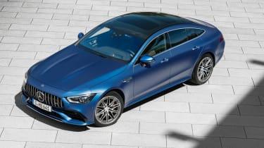 Mercedes-AMG GT 4-Door 2021 facelift blue - static