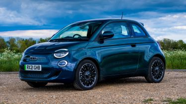 Fiat 500 - front static