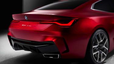 BMW Concept 4 - rear