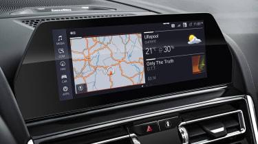 BMW 8 Series Convertible - sat-nav