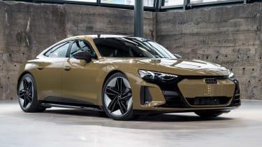 Audi e-tron GT - brown front