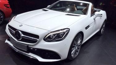 Mercedes SLC - front quarter show