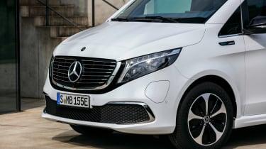 Mercedes EQV - front detail
