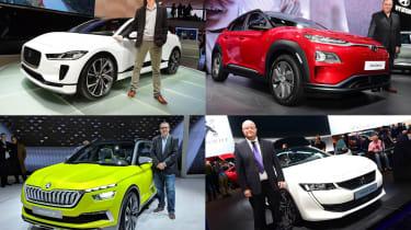 2018 Geneva Motor Show stars - header
