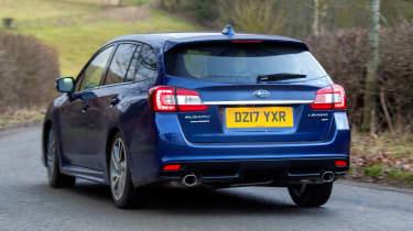 Subaru Levorg - rear