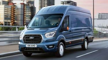Ford Transit - tracking