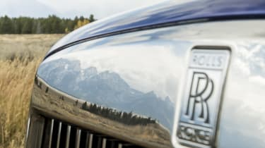 Rolls-Royce Cullinan badge