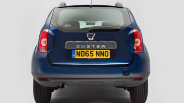Used Dacia Duster - full rear