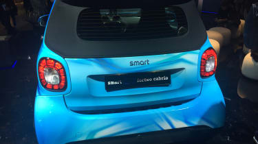 Smart EQ ForTwo Cabrio - Geneva rear