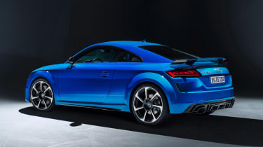 Audi TT RS Coupe - studio rear