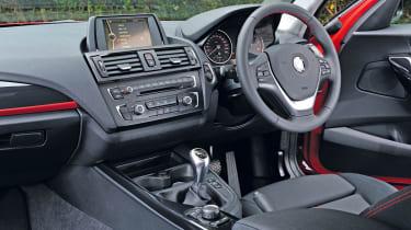 BMW 118d dash