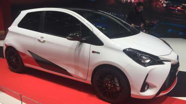 Toyota Yaris GRMN hot hatch 2017 - Geneva side