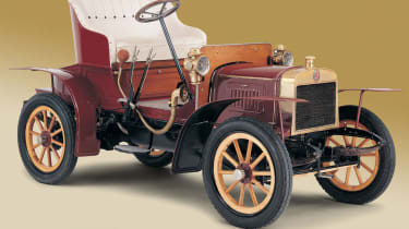 <strong>1905:</strong> Skoda's first car is released – the Voiturette A.